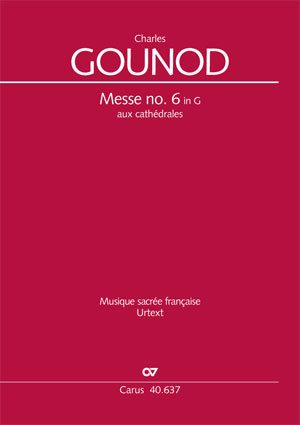 Charles Gounod: Messe brève no. 6 aux cathédrales