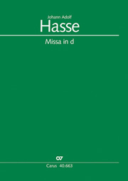 Johann Adolf Hasse: Mass in D minor