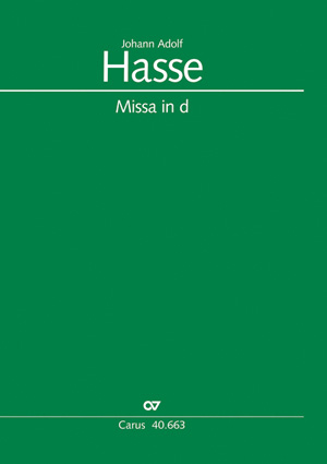 Johann Adolf Hasse: Messe in d