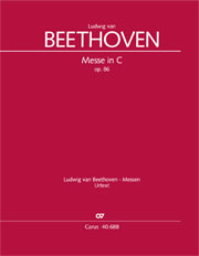 Ludwig van Beethoven: Messe in C