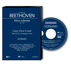 Beethoven: Missa solemnis. Carus Choir Coach