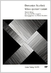 Domenico Scarlatti: Missa brevis quatuor vocum