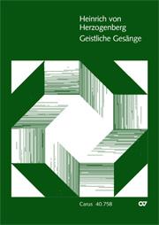 Herzogenberg: Geistliche Gesänge