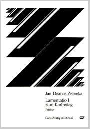 Jan Dismas Zelenka: Lamentatio III zum Karfreitag
