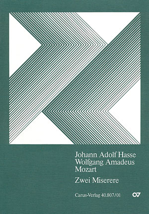 Hasse; Mozart: Miserere