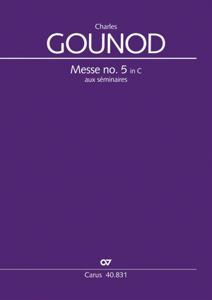 Charles Gounod: Messe brève no. 5 aux séminaires