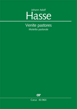Johann Adolf Hasse: Venite pastores