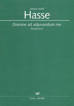 Johann Adolf Hasse: Domine ad adiuvandum me