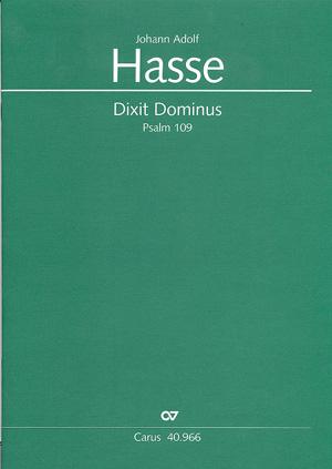 Johann Adolf Hasse: Dixit Dominus