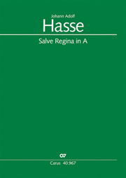 Johann Adolf Hasse: Salve Regina in A