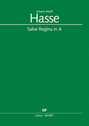 Johann Adolf Hasse: Salve Regina in A