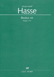 Johann Adolf Hasse: Beatus vir