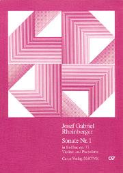 Josef Gabriel Rheinberger: Violinsonate Nr. 1 in Es