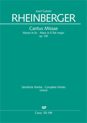 Josef Gabriel Rheinberger: Mass in E flat major