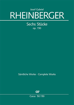 Rheinberger: Six Pieces for Violin and Organ