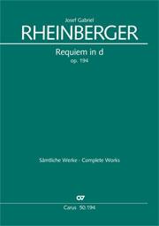 Josef Gabriel Rheinberger: Requiem in d