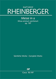 Josef Gabriel Rheinberger: Messe in a