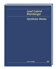 Rheinberger: Chormusik II für Männerchor a cappella  (Gesamtausgabe, Bd. 20)