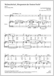 """Rheinberger: Chant de Noel """"Morgenstern der finstern Nacht"""" (2 versions)"""