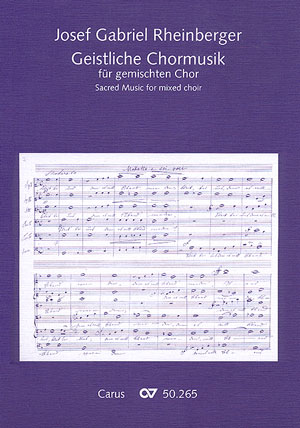 Rheinberger: Sacred music for mixed choir