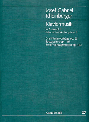 Rheinberger: Klaviermusik zu 2 Händen II