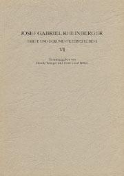 Josef Gabriel Rheinberger: Briefe und Dokumente seines Lebens IV