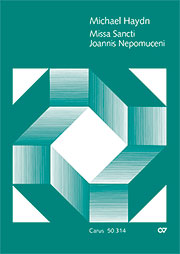 Johann Michael Haydn: Missa Sancti Joannis Nepomuceni