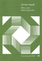 Johann Michael Haydn: Missa pro Quadragesima