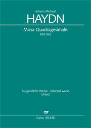Johann Michael Haydn: Missa Quadragesimalis