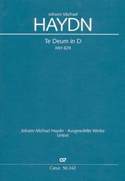 Johann Michael Haydn: Te Deum