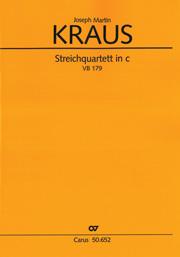 Joseph Martin Kraus: Streichquartett in c