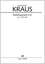 Joseph Martin Kraus: Streichquartett in D