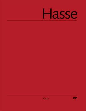 Hasse: Litaneien und Tantum ergo. Hasse-Werkausgabe IV/2