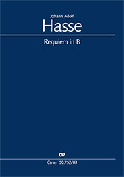 Johann Adolf Hasse: Requiem in B