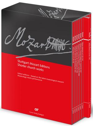 Mozart: Kleine Kirchenwerke in Studienpartituren