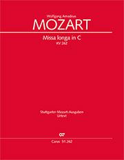 Wolfgang Amadeus Mozart: Missa longa en ut majeur