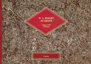 Mozart: 30 Lieder
