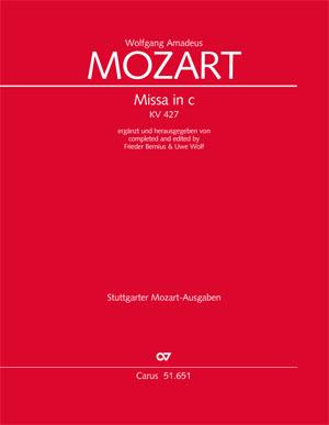 W. A. Mozart: Missa in c KV 427