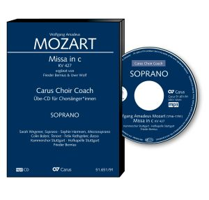 W. A. Mozart: Missa in c KV 427. Carus Choir Coach