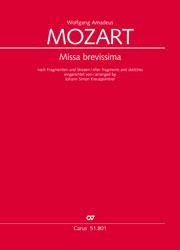 Wolfgang Amadeus Mozart: Missa brevissima