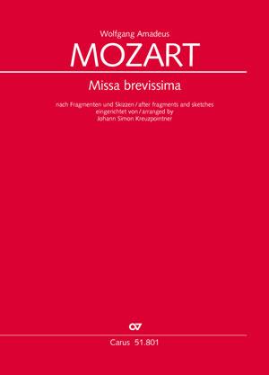 Mozart Missa brevissima