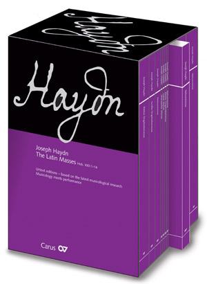 Joseph Haydn: Messes latines complètes en édition Urtext