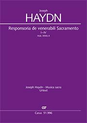Joseph Haydn: Responsoria de venerabili Sacramento