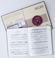 Reger Edition of Work, vol. I/1: Chorale phantasies for organ