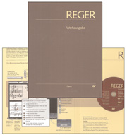 Reger: Edition of works, vol. I/2: Fantasias and fugues, variations, sonatas and suites for organ I