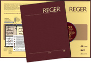 Reger Edition of Work, vol. I/3: Fantasias, Fugues, Variations, Sonatas, Suites II