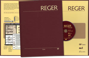 Reger Edition of Work, vol. I/4: Chorale preludes for organ