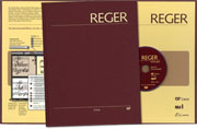 Reger Edition of Work, vol. I/5: Organ pieces I