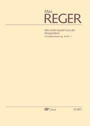 """Max Reger: Choralphantasie """"Wie schön leucht't uns der Morgenstern"""""""