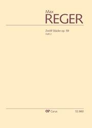 Reger: 12 Stücke op. 59, Heft 2